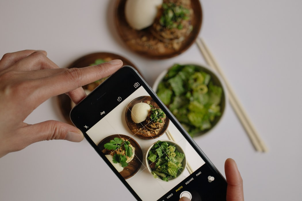 Food influencer Instagram