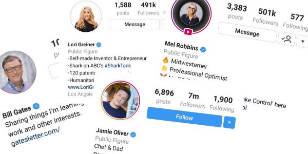 Instagram public figure