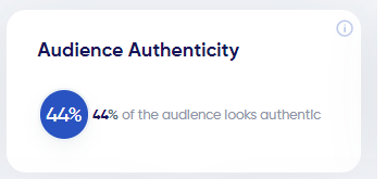 Audience authenticit
