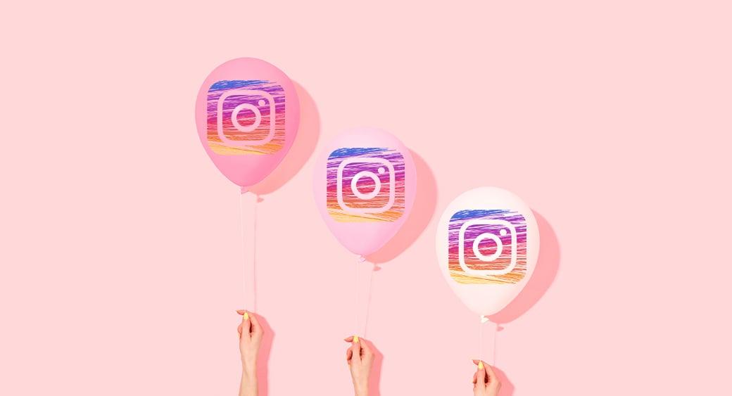Instagram balloons